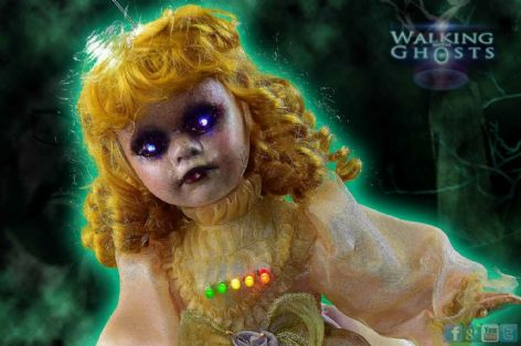 Haunted Doll EMF Electrostatic Trigger Object Paranormal Ghost Hunt Tool, Ivy